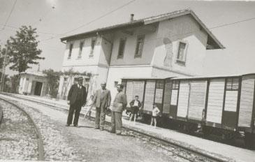 Inaugurazione Stazione Piane d'Archi (1939)