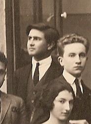Raffaele Pellicciotta in tempi giovanili.